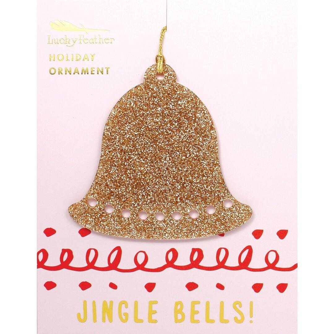 LF Glitter Ornament Bell