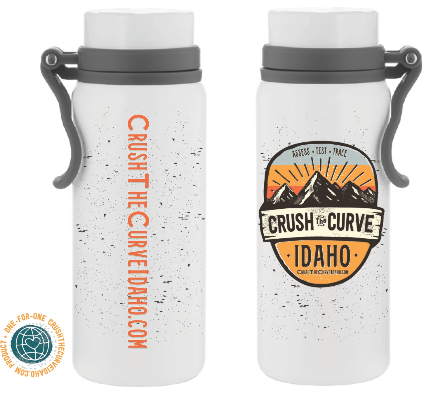 Crush The Curve Water Bottle