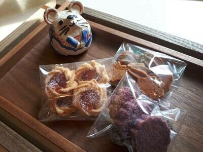 wata焼菓子 おまかせクッキー3種セット(日・月・火曜日配達不可)