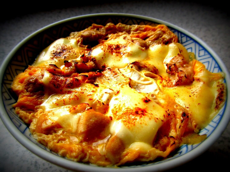 鷹場そば 【チリンチリン三鷹限定】 そば屋の炙りチーズまかない飯(木曜日配達不可)
