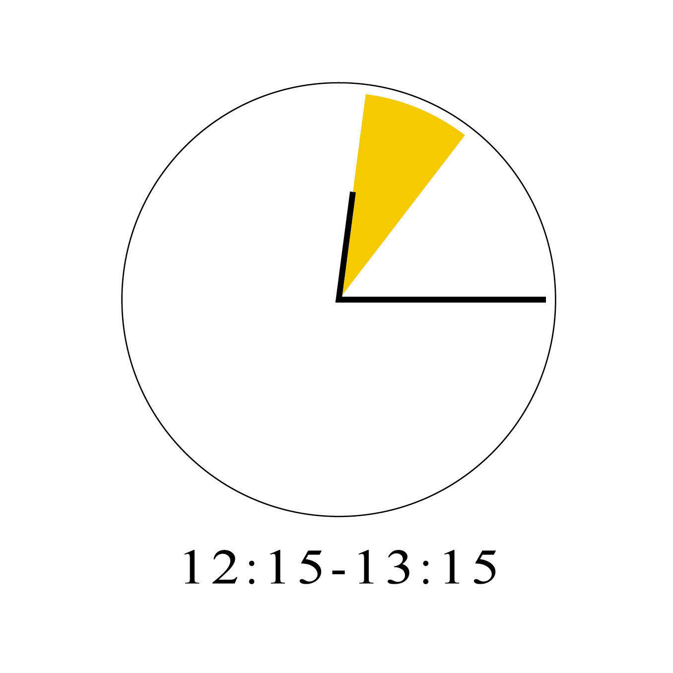 6/13 12:15-13:15