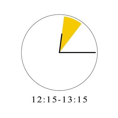 7/29 12:15-13:15
