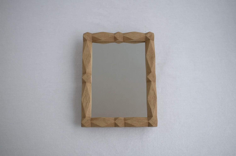 装飾鏡(ナラ)