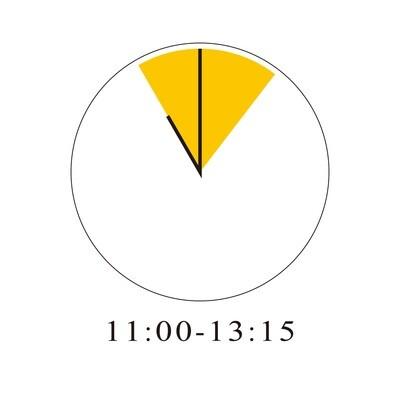 11/28 11:00-13:15(展示+料理会)