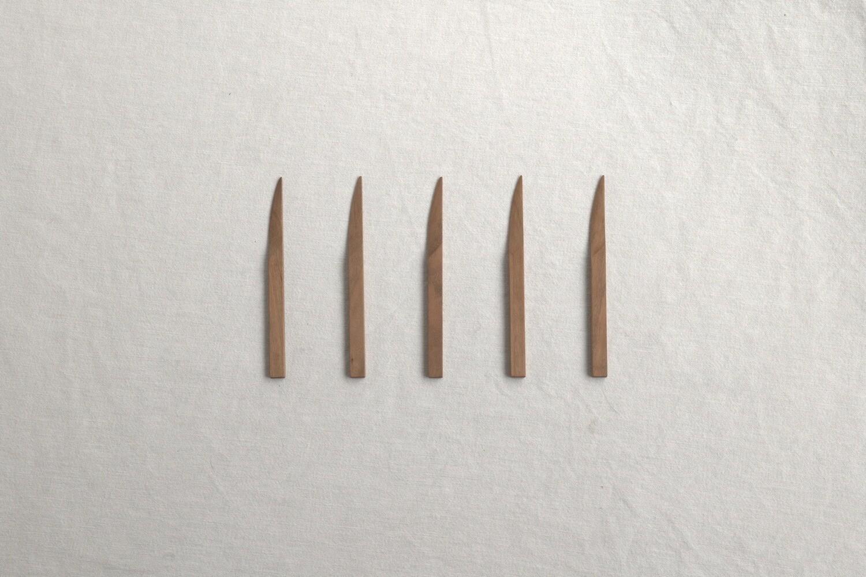 ヤマザクラの菓子切り(5本組)