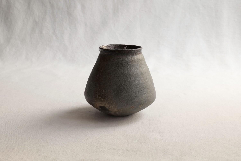 枯淡釉花器