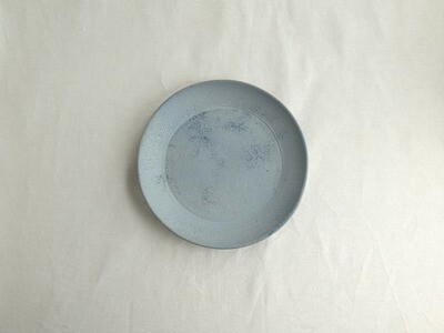 灰白 青 平鉢