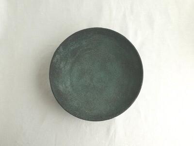緑青 尺鉢