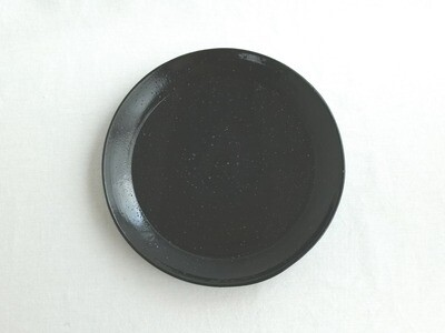 黒釉 平鉢