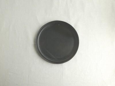 黒釉 平皿