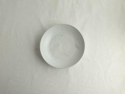 白釉 平鉢