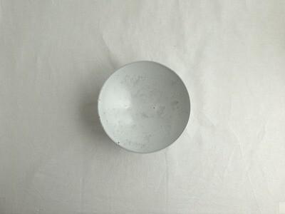 白釉 六.五寸鉢