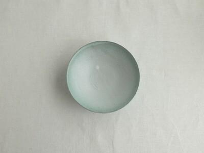 緑白釉 六寸鉢