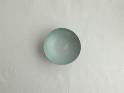 緑白釉 五寸鉢