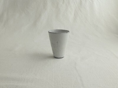 白釉 筒湯呑