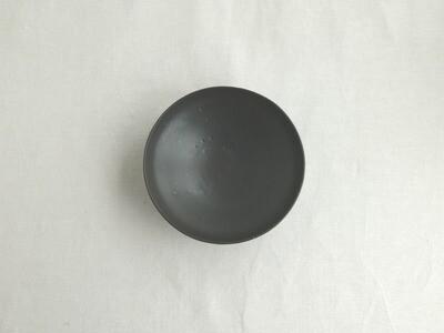 黒釉 六寸鉢