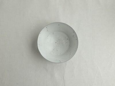 白釉 六寸平鉢