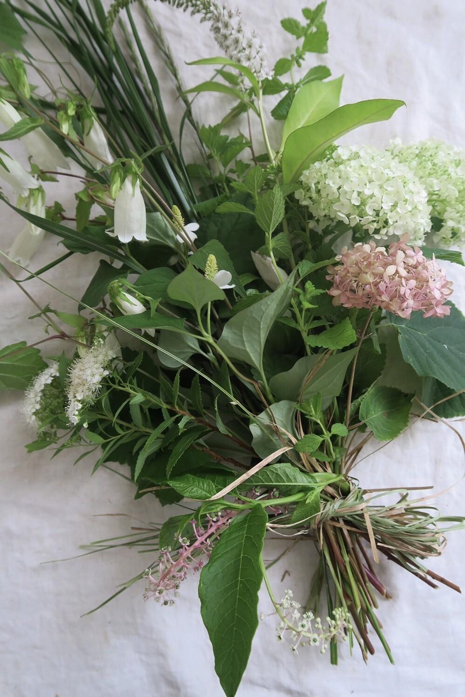 夏至の草木花束