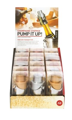 Pump it up! Champagne Stopper