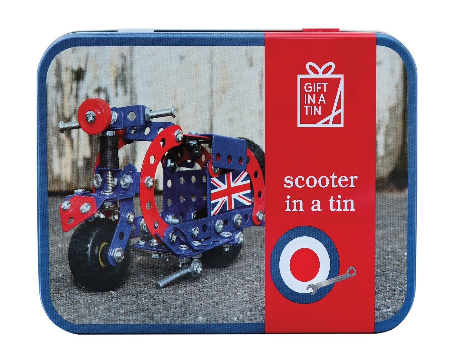 Scooter in a Tin
