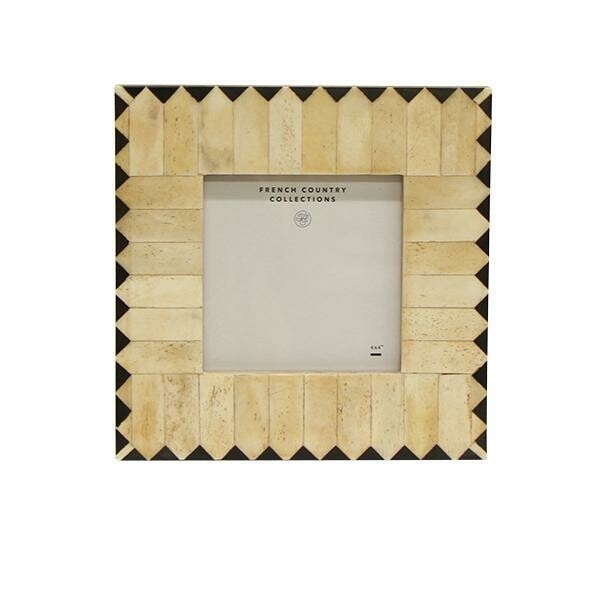 Cleo Zigzag Square 4x4 Photo Frame