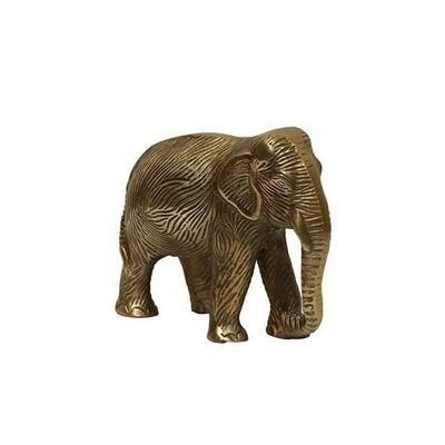 Antique Gold Elephant Decor