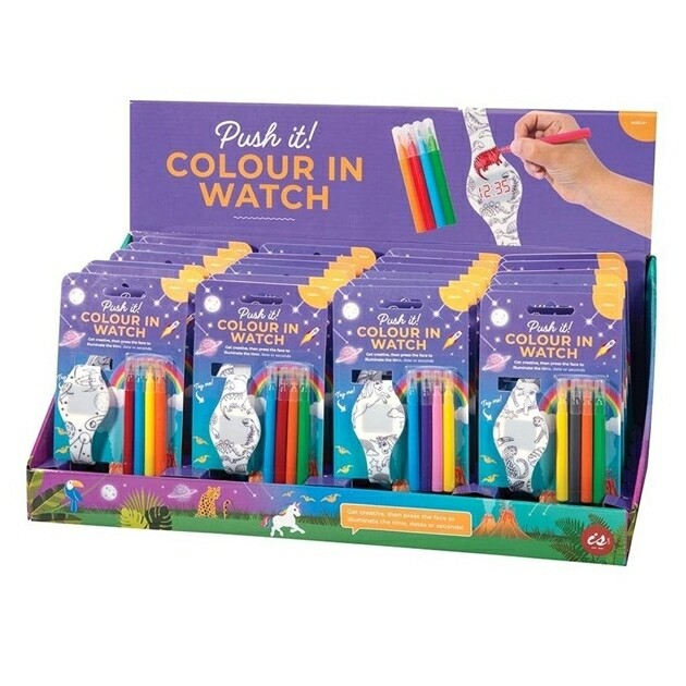 Colour in Push It Watch