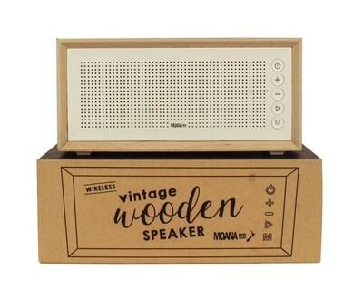 Vintage Wooden Speaker