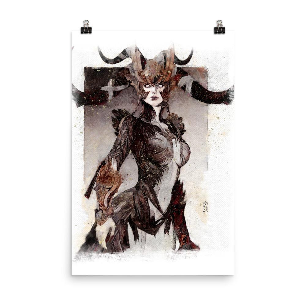 Fantasy Woman Poster