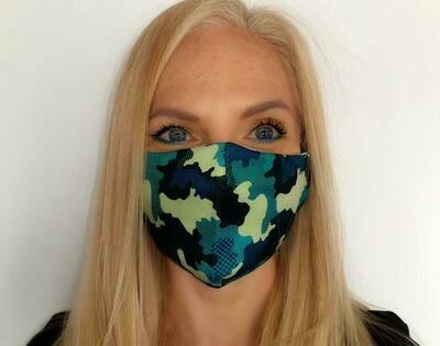 Camo Green Mask