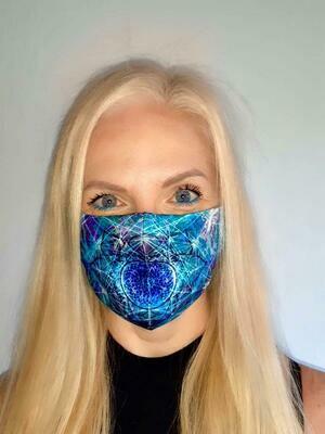 Geometric Mandala Mask