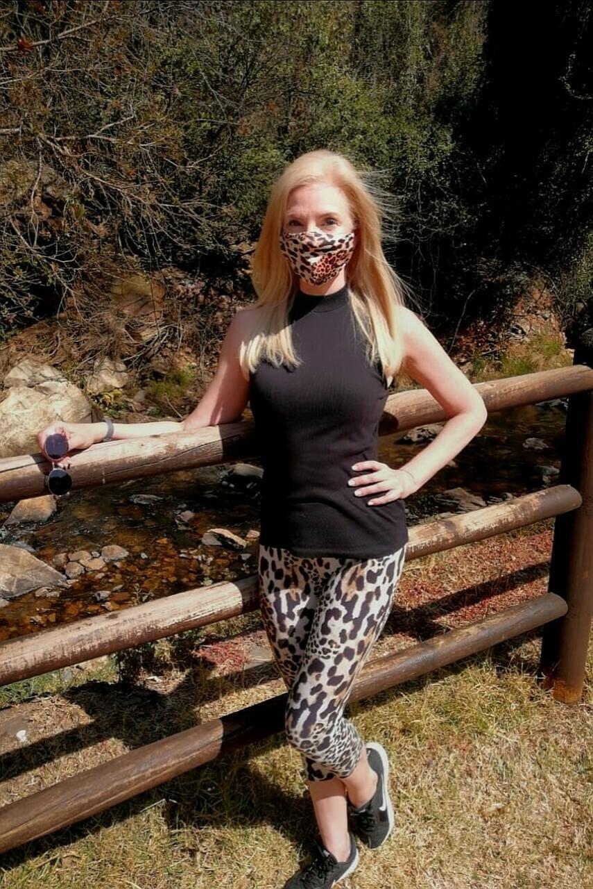 Leopard Capri Set