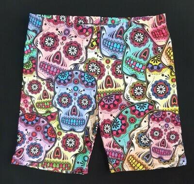 Mexican Skulls Hot Pants