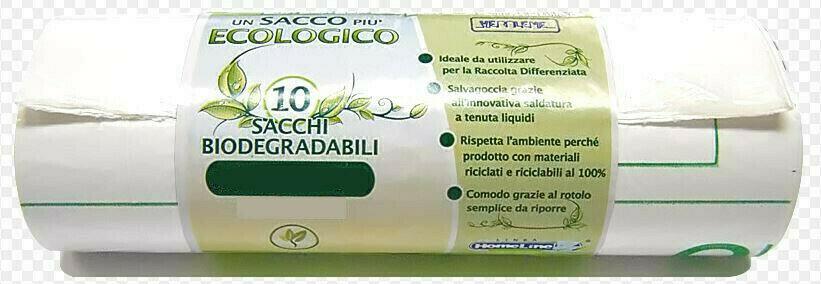 10 Sacchi Bio Degradabili 90 x 120