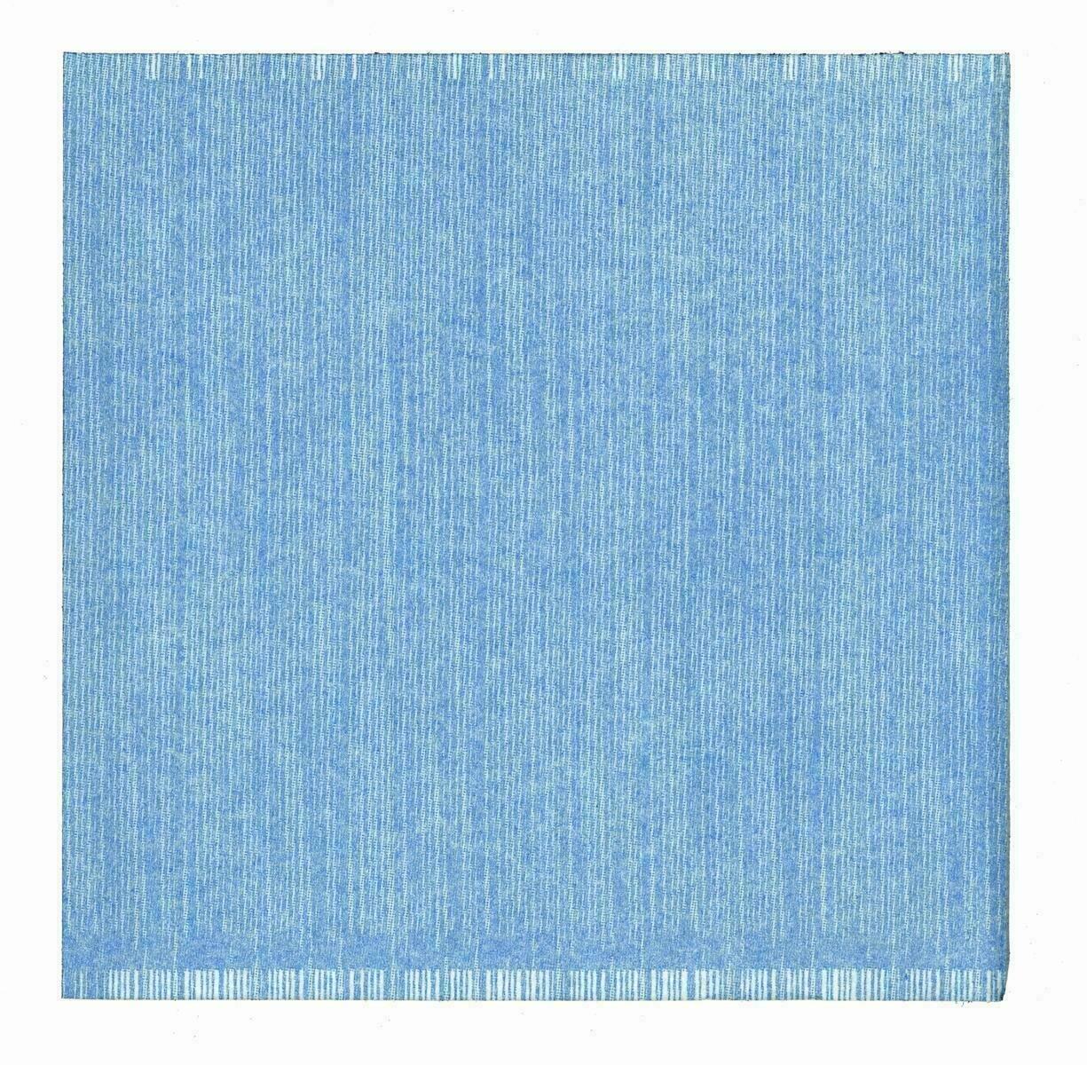 50 Tovaglioli 40x40 Batik Blu