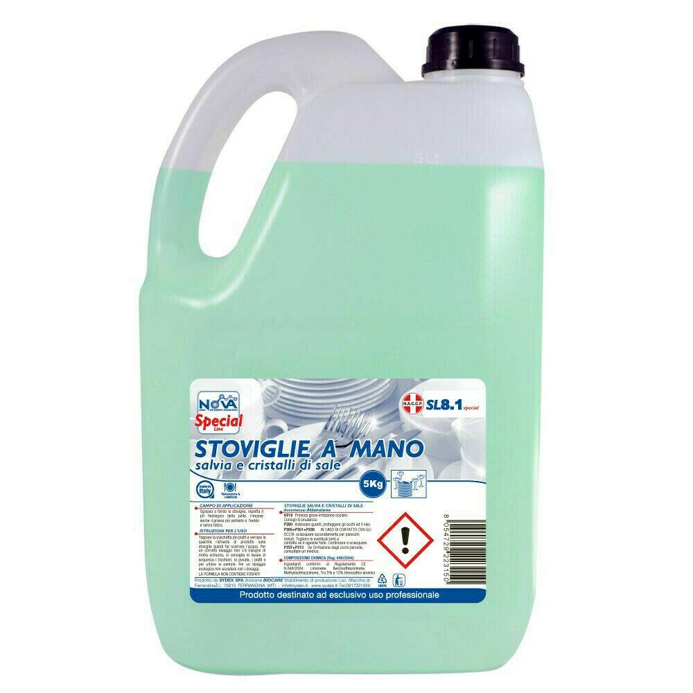 5 kg Detergente Stoviglie Limone