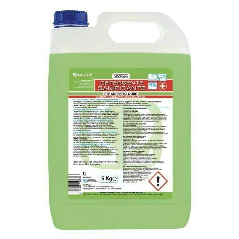 5 Kg Detergente Sanificante Superfici Dure