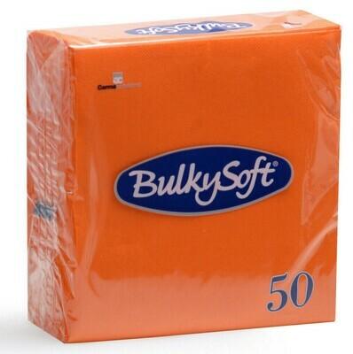 50 Tovaglioli 33x33 Arancio