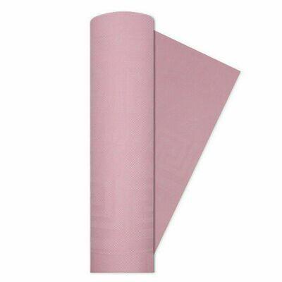 Tovaglia a Rotolo Damascata Rosa 1.2 mt x 7 mt