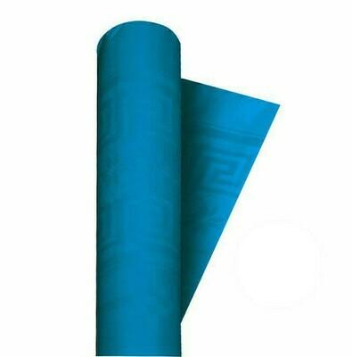 Tovaglia a Rotolo Damascata Azzurro 1.2 mt x 7 mt