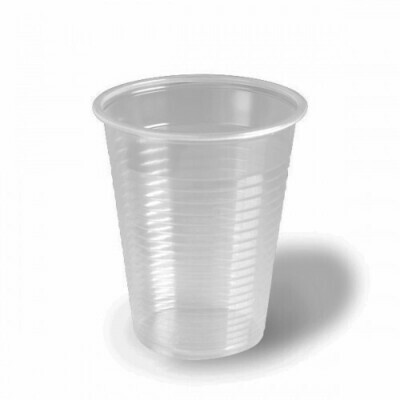 100 Bicchieri Monouso 200 cc Trasparente