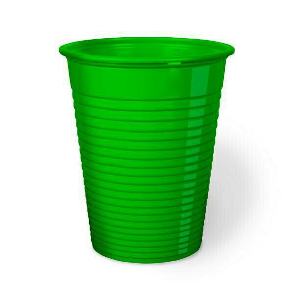 50 Bicchieri Monouso 200 cc Verde