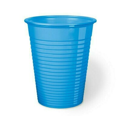 50 Bicchieri Monouso 200 cc Azzurro