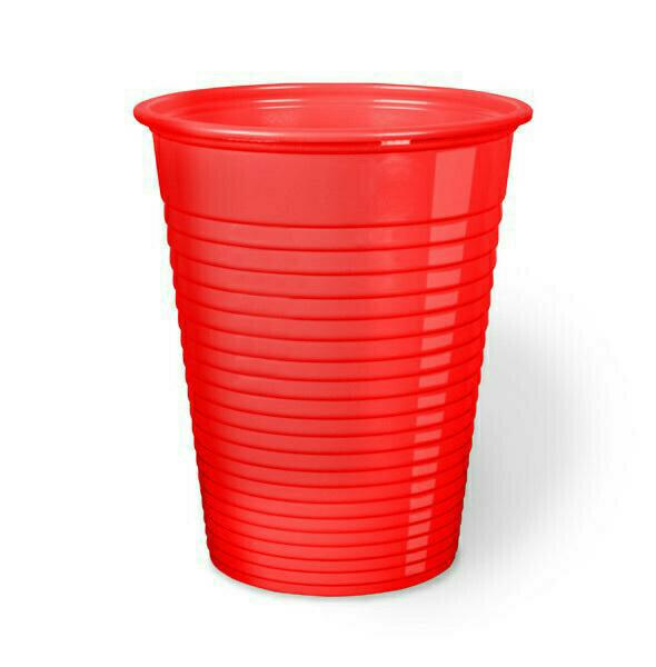 50 Bicchieri Monouso 200 cc Rosso