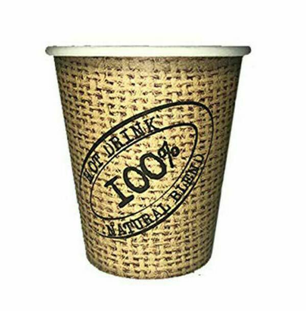 50 Bicchieri Caffè 110 ml Juta