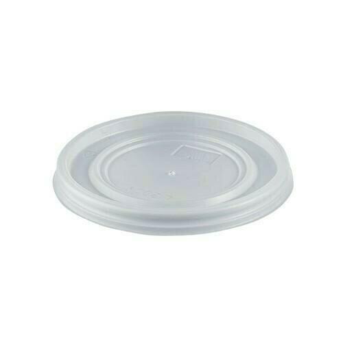 100 Coperchi Plastica per Bicchiere 80 ml