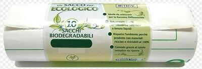 20 Sacchi Bio Degradabili 50 x 60