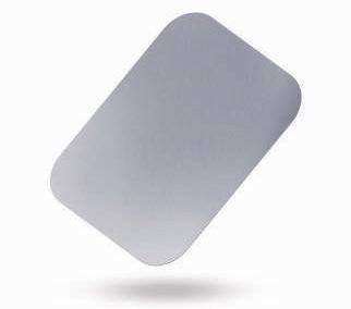 100 Coperchi Vaschetta Allumino - 1 Porzione