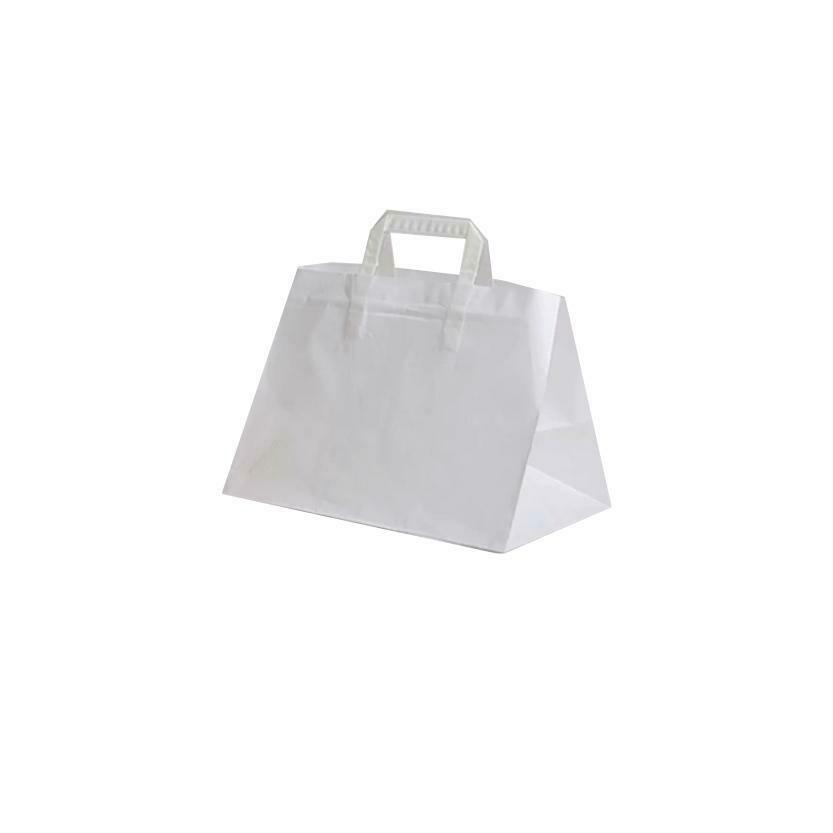 200 Shoppers in Carta Bianco 32+20x23