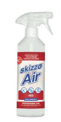 600 ml Skizzo Air Red